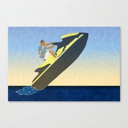 Personal watercraft Canvas Print