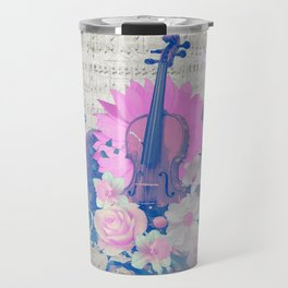 "VIOLIN by collection ""Music"" Travel Mug"