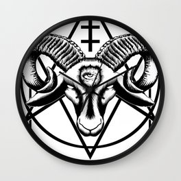 Godless Youth Wall Clock