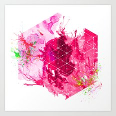 Splash1 Art Print