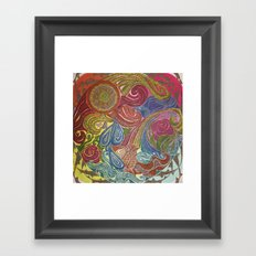 Our World, Our Home Framed Art Print
