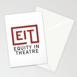 Equity in Theatre Stationery Cards