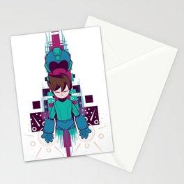 The Mega Man Stationery Cards
