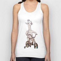 chile Tank Tops featuring where you be chile? by Asia Fuse Dirty Tease