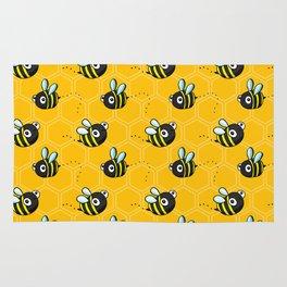 Bumble Bees Rug