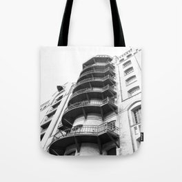 Warehouse District Architecture Hamburg Tote Bag