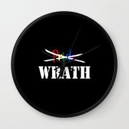 Wrath not Pride Wall Clock
