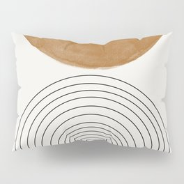 Minimalist Space Pillow Sham