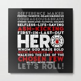 Hero Metal Print