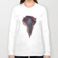 vagina Long Sleeve T-shirts featuring Ashley Lane's Vagina No.2 by Nipples of Venus