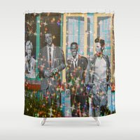 hollywood Shower Curtains featuring Hollywood Legends  by Key2MyArt