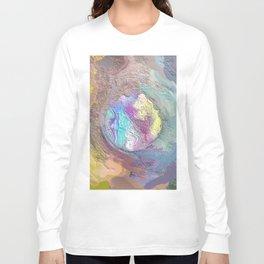 Abstract Mandala 206 Long Sleeve T-shirt