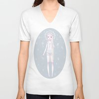 celestial V-neck T-shirts featuring *:・゚✧ Celestial ✧・゚:* by ♡ SUSHICORE ♡