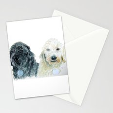 Two Labradoodles Stationery Cards