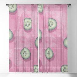 fruit 8 Sheer Curtain