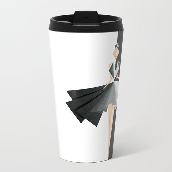Swan Lake Metal Travel Mug