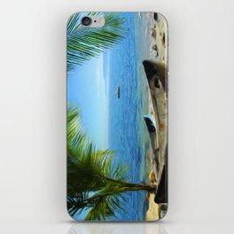 Boats at Las Caletas iPhone Skin