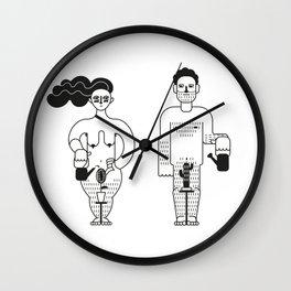 Adam & Eve Wall Clock