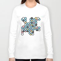 scales Long Sleeve T-shirts featuring Scales by SKUDIAdesigns