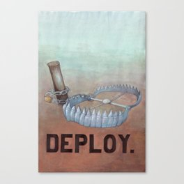 deploy Canvas Print