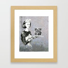 Service  Framed Art Print