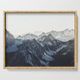 Mountain Mood Serving Tray