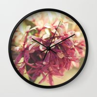 blush Wall Clocks featuring Blush by BURNEDINTOMYHE∆RT♥
