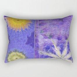Mopey Feeling Flower  ID:16165-060813-24921 Rectangular Pillow