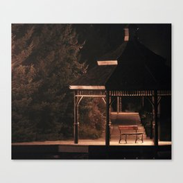 Join Me Down by the Water, Loo | Gazebo Canvas Print