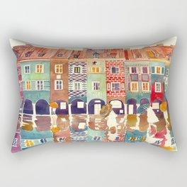 Evening in Poznań Rectangular Pillow