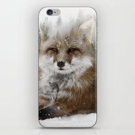 Fox Stare iPhone Skin