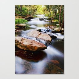 the River Still Canvas Print