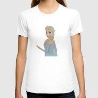 elsa T-shirts featuring Elsa by Sierra Christy Art