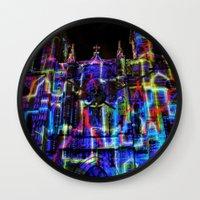 saga Wall Clocks featuring The Saga: 2 by Roam Images