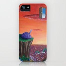 alternative sunset iPhone Case