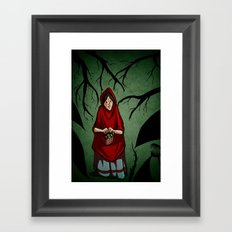 Lost in the Fog Framed Art Print