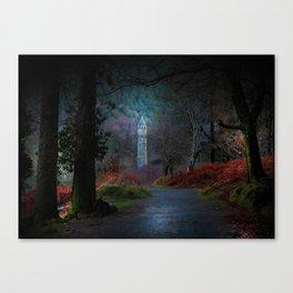 County Wicklow Ireland Fairytale Land Woodland Photography Canvas Print