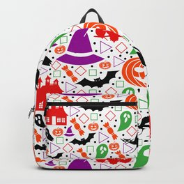 Playful Halloween pattern Backpack