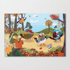 Bird Band Canvas Print