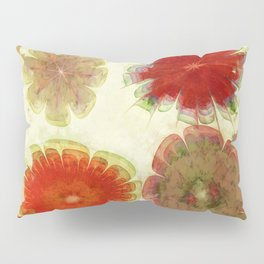 Gingles Style Flowers  ID:16165-084302-93370 Pillow Sham