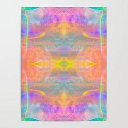 Prisms Play of Light 2 Mandala Poster