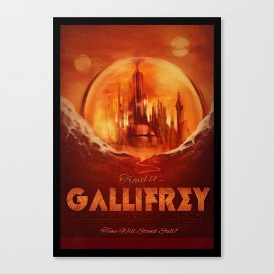 Travel to Gallifrey! Canvas Print