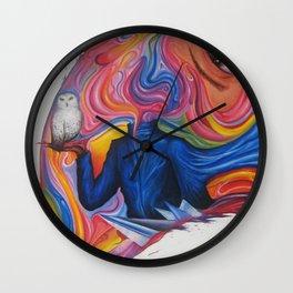 A Lover's Desire Wall Clock