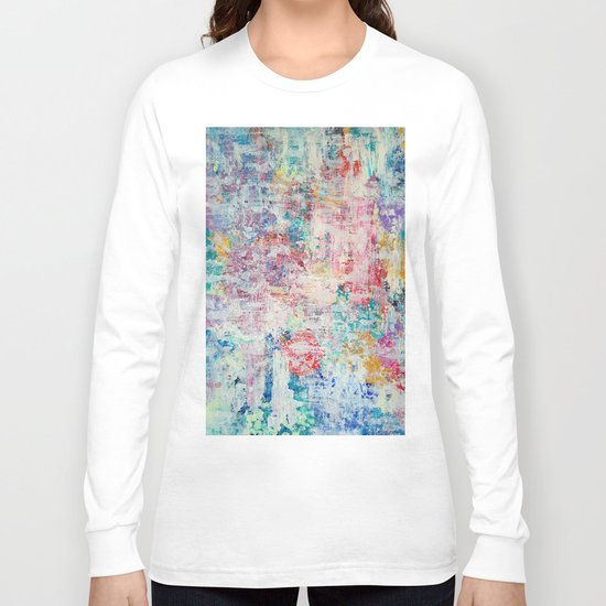 Abstract 136 Long Sleeve T-shirt