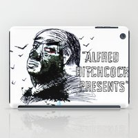 hitchcock iPad Cases featuring Hitchcock Presents by Mariano F. Hernandez