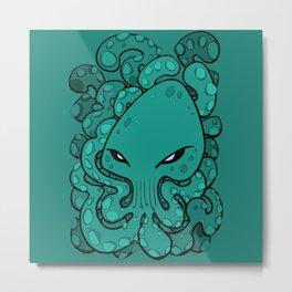 Octopus Squid Kraken Cthulhu Sea Creature - Arcadia Metal Print