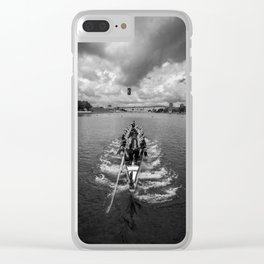 Linear Start Clear iPhone Case