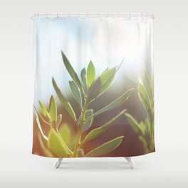 O l i v e . T r e e Shower Curtain