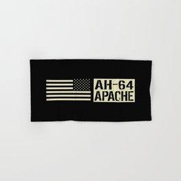 AH-64 Apache Helicopter Hand & Bath Towel