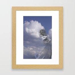Angel Clouds Color 3 Framed Art Print